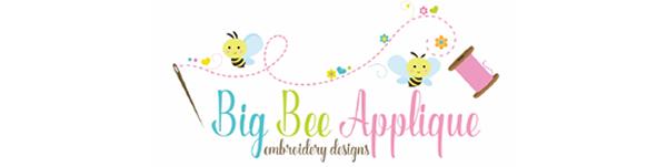 Big Bee Applique with Melissa
